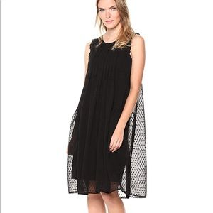 Lucky Brand Swiss Dot Dress XS